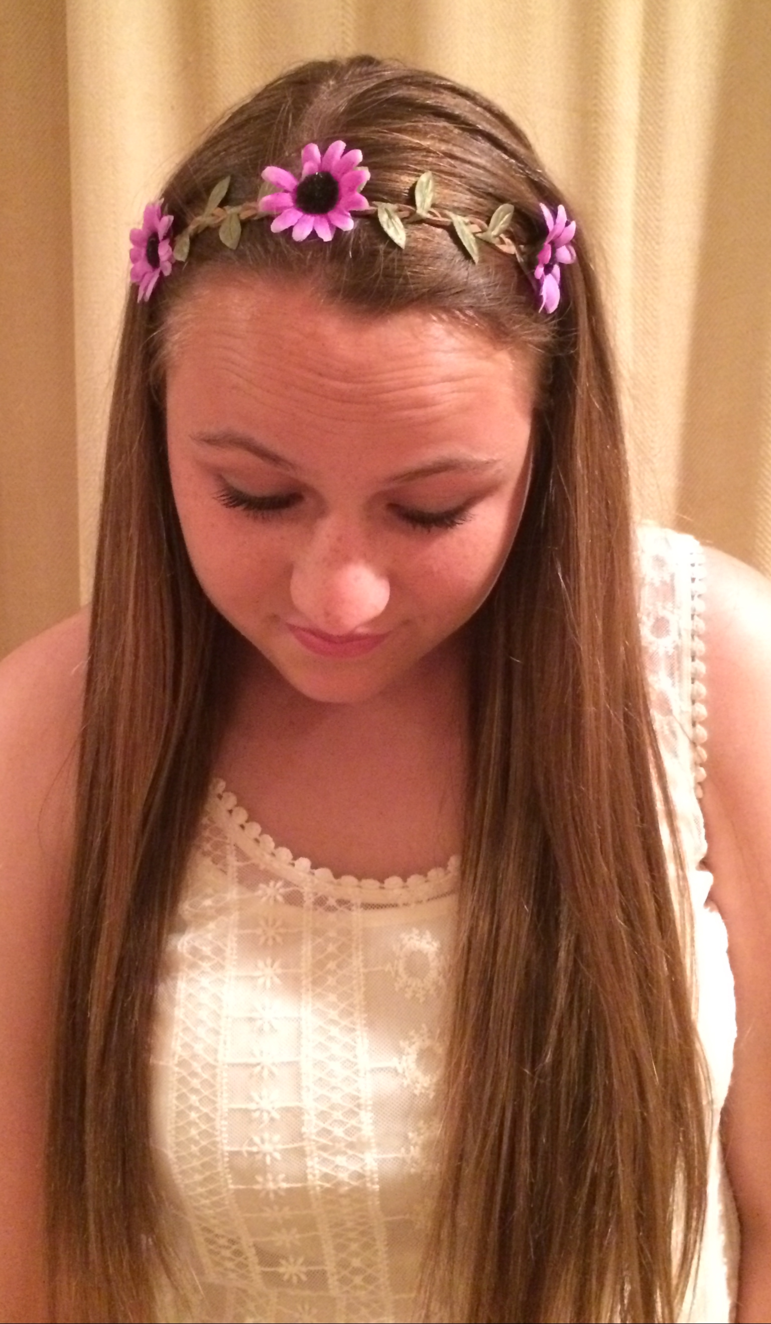 Purple Flower Crown Annas Bow Company Online Store Powered By