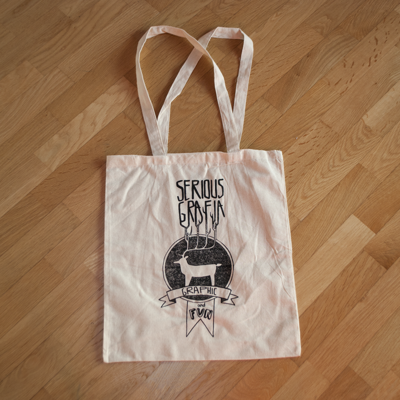 Bag fun graphic shopper seriousgrafia