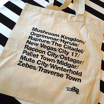 Virtual Cities Tote Bag
