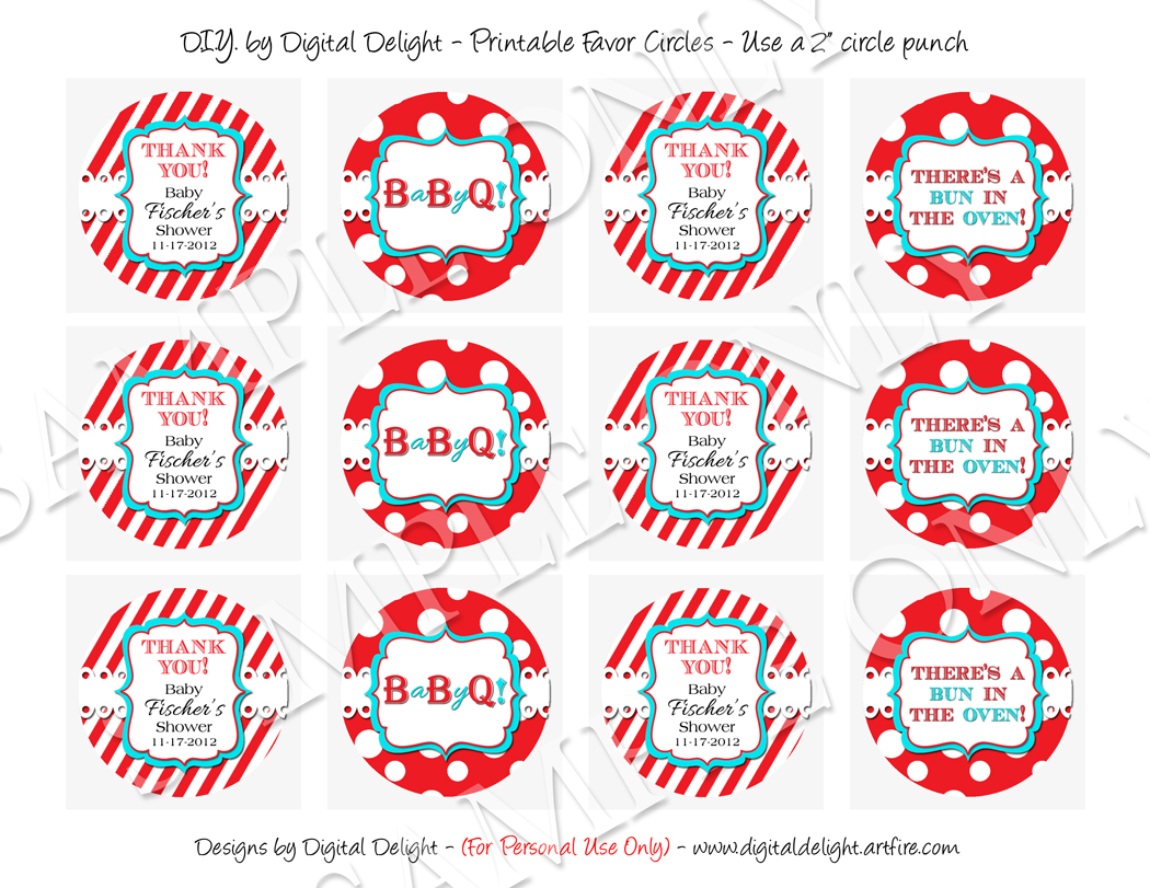 BBQ Baby Shower Favor Saying Tags 1050 x 811