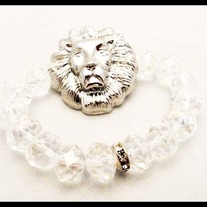 Big Lion Head Bracelet