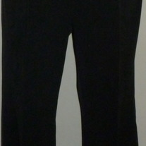 Black Pants-Gap Maternity Size 8 Ankle