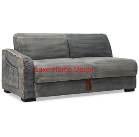 Denim Sectional Luxe Home Decor Furnishings Online