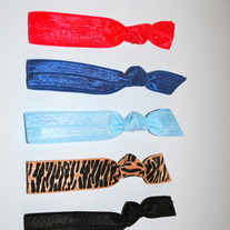 The Claire Set- 5 No-Crease Hair Ties