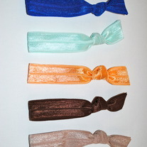 The Catherine Set- 5 No-Crease Hair Ties