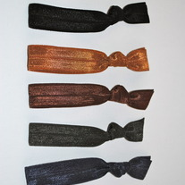 The Coco Set- 5 No-Crease Hair Ties