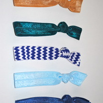 The Julia Set- 5 No-Crease Hair Ties