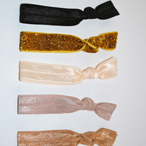 The Blaire Set- 5 No-Crease Hair Ties
