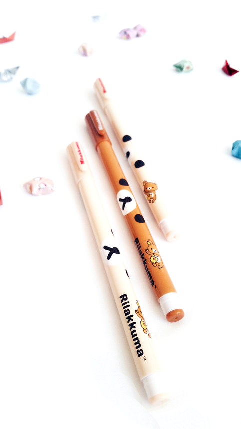 Rilakkuma Pens (Set of 3)