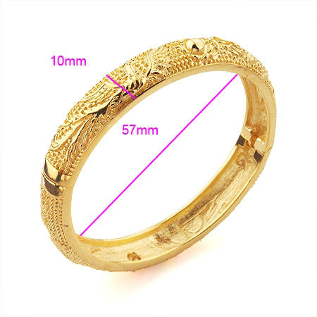 DragonPhoenix Gold Bangle Gold Jewelry Gold Jewelry Online Shop