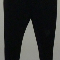 "Black ""Flowy"" Pants-Babystyle Size Medium   CLLO2"
