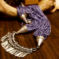 Arabian Fringe Necklace