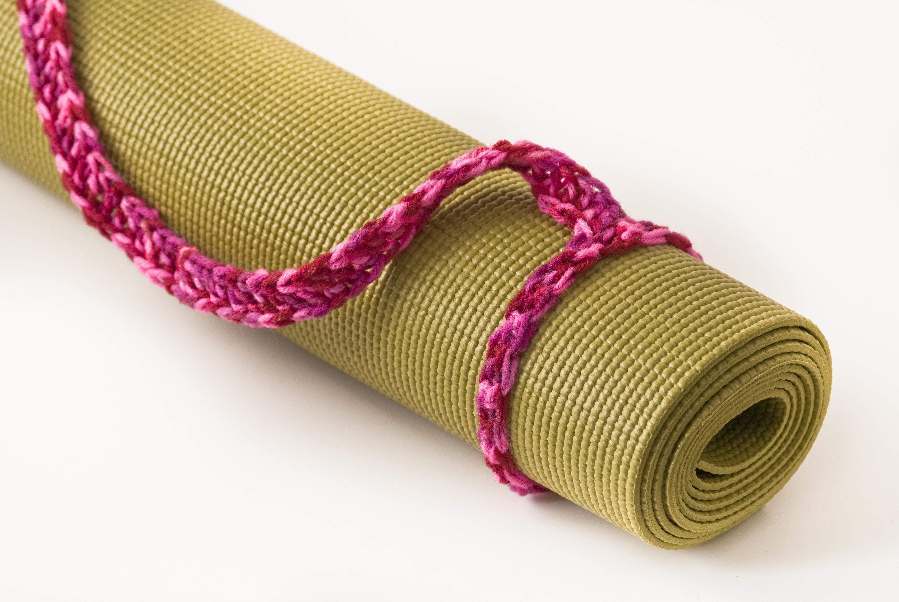 bright hand mat mats appliqued yoga soulie buddhibox straps product pink sling ribbon