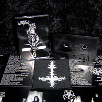 "[Rite 001] BLACK WITCHERY - ""Desecration of the Holy Kingdom"" Cassette Album Reissue + Patch"