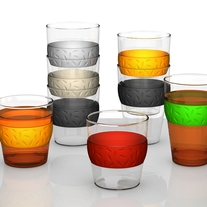 Simax Set of 6 SIT Stackable Glass Cups 11oz