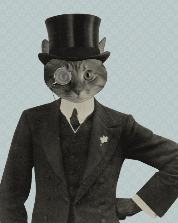 luciusart mr fancy cat wood block print online store powered fancy cat 570x713