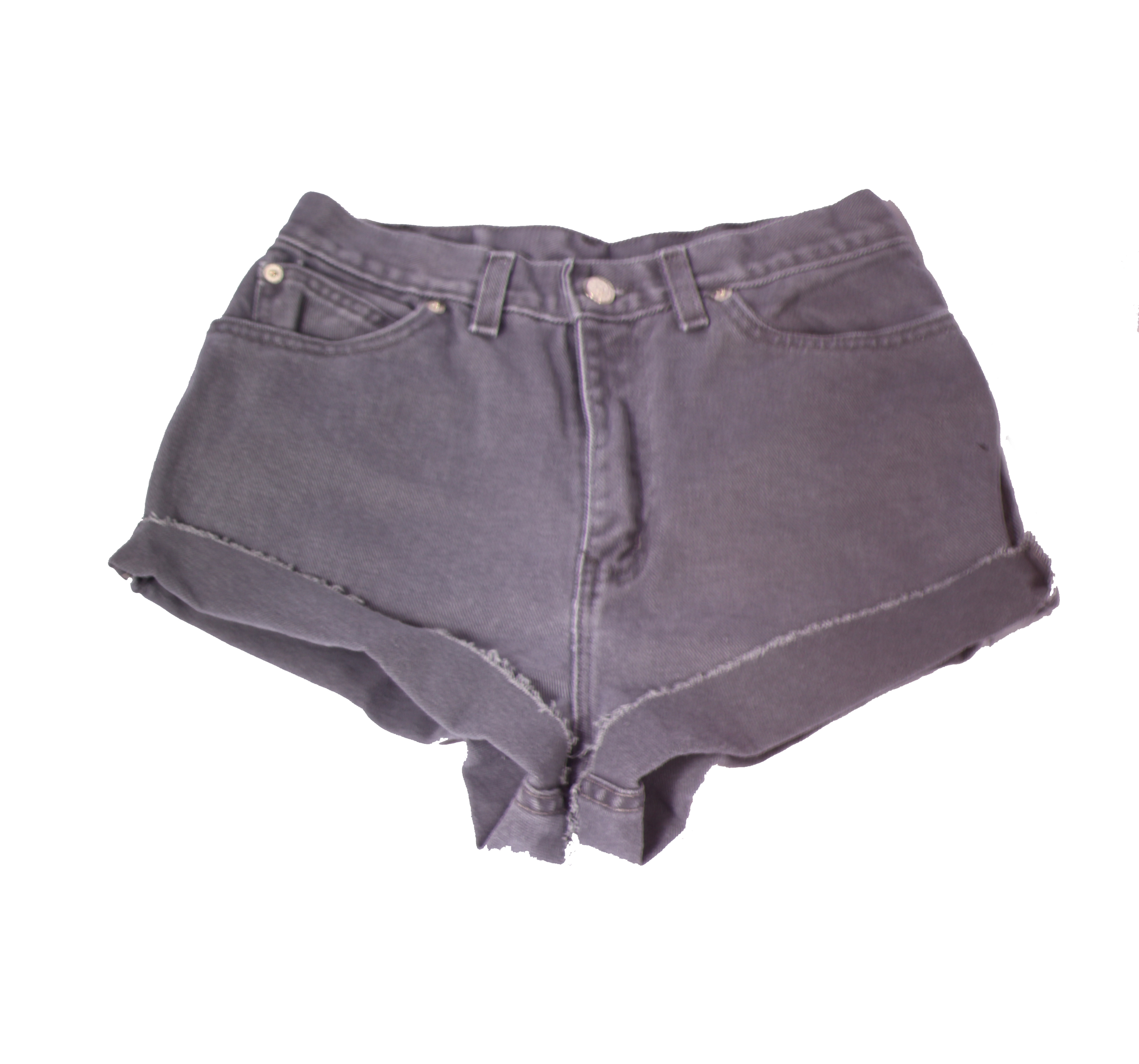 SER&A Clothing   Gray High-waisted Shorts   Online Store Powered ...