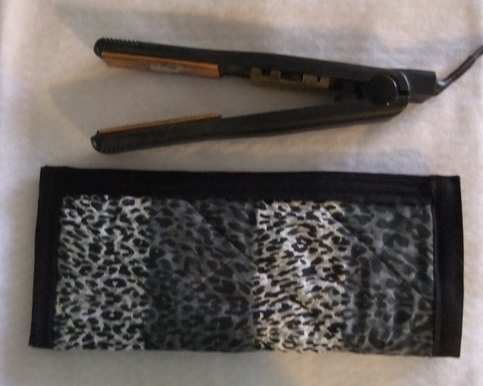 My Mind To Your Hands Cheetah Print Flat Iron Sleeve