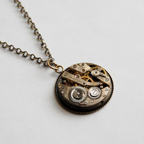 Steampunk Necklace - Thumbnail 1
