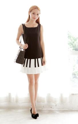 Fantastic Women Dress Design Fashion Flat Templates Sketches Illustration