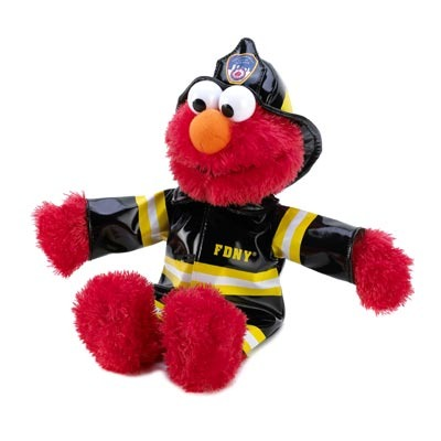 Elmo Fire Fighter Plush