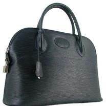Italian Designer Leather Bag (Orione - Blue)