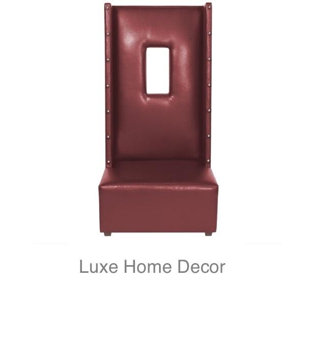 Phantom High Back Chair He 1 Luxe Home Decor