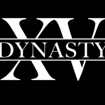 """Dynasty"" Vinyl Car Window Sticker"