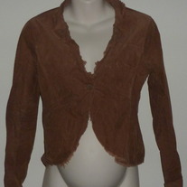 Brown Short One Button Jacket-Mimi Maternity Size Small  CLTE1