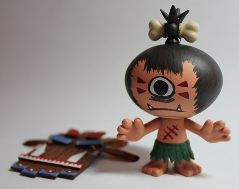 Custom Tribal Pygmy Blind Box Series