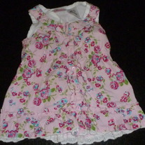 Pink Floral Dress-Young Hearts Size 2T