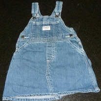 Denim Overall Jumper-OshKosh Size 18 Months