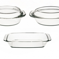 Simax 5 - Piece Casserole Set