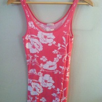 Hollister Floral Tank Top