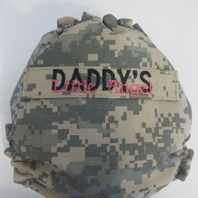 Army acu os pocket - daddy's little angel