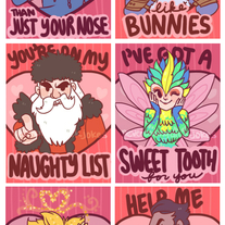 Rise of the Guardians Valentines