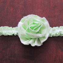 Shabby Fray Flower headband