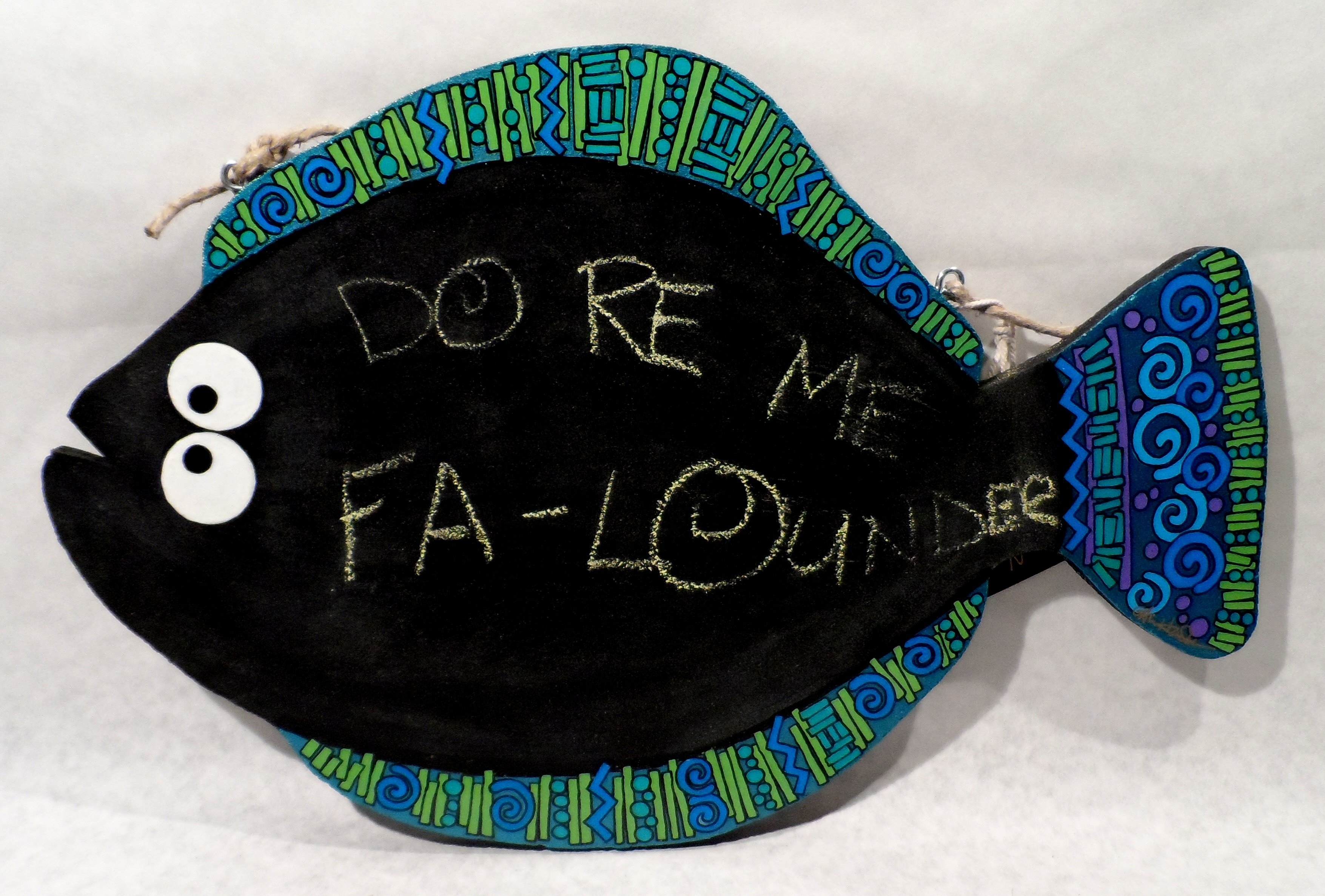 Fanciful Flounder