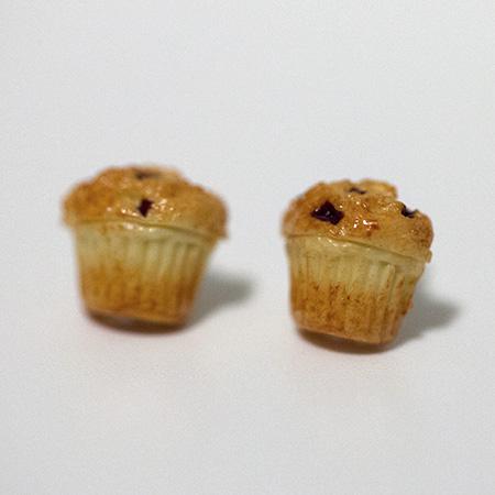 Cute food earrings photo