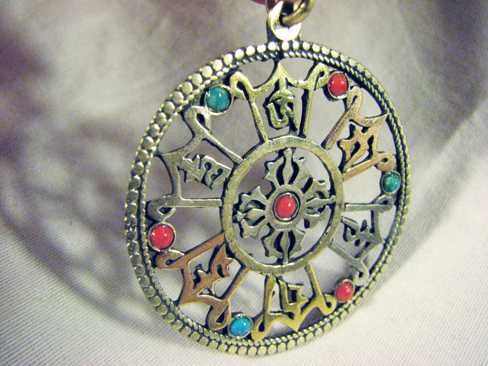 pendant coral dorje tibetan thedharmashop img and products double