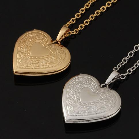 Unique Locket Necklace Women Fashion Jewelry Wholesale