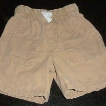 Khaki Shorts-The Children's Place Size 3T