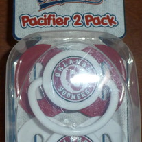OU University of Oklahoma Game day Pacifiers