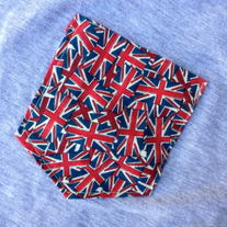 Union Jack Tank Top in Grey