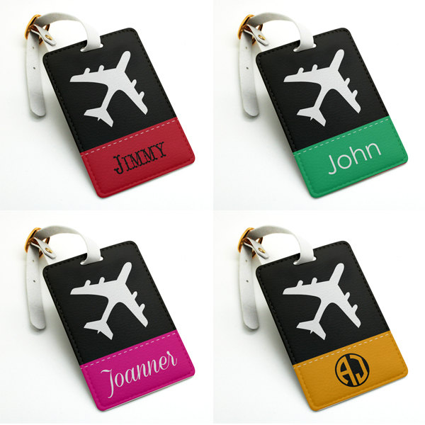 Personalized name tag, Luggage Tag, Bag Tag, Travel Tag, Suitcase ...