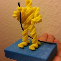 3D Printed Fusilli Jerry medium photo