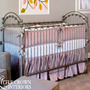 Lavender Silk Crib Bedding Set - Thumbnail 1