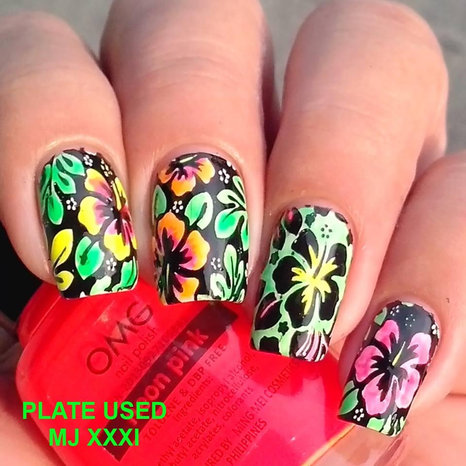 Nail Art Ideas nail art online store MJ XXXI Image Plate · MyOnline Shop · Online Store Powered by Storenvy