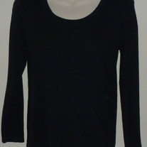 Black Long Sleeve Shirt-Motherhood Maternity Size Large