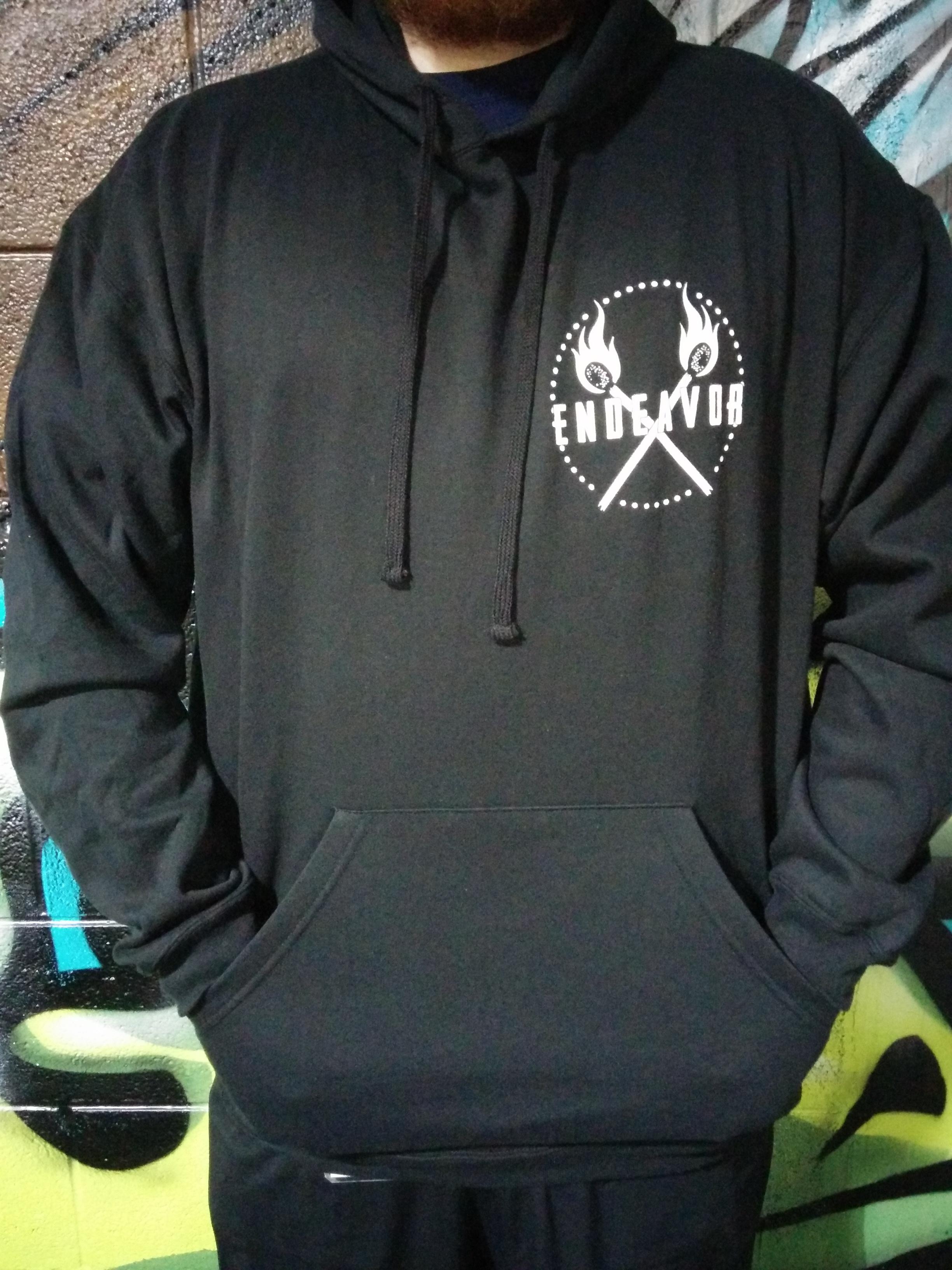 Black lantern hoodie